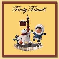 Hallmark Series Frosty Friends Ornaments