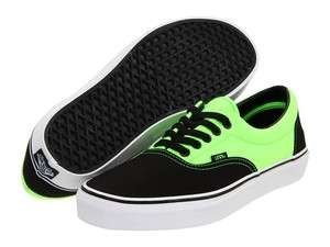 NEW VANS AV SKATE SHOES  BLACK/NEON GREEN