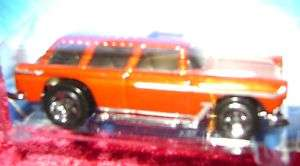 Hot Wheels CLASSIC NOMAD RED ORANGE CAR S Scale 164 r