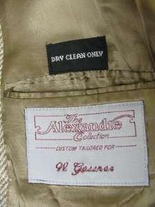 Superb VTG mens HARRIS TWEED brown tweed blazer by ALEXANDRE  Great