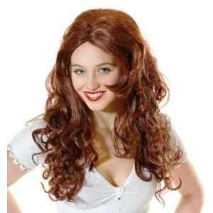 Super Model Auburn Fancy Dress Wig Inc FREE Wig Cap Toys & Games
