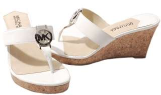 Michael Kors Palm Beach Patent Wedges Womens Shoes