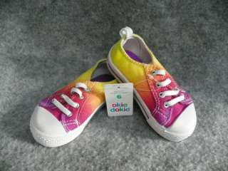 OKIE DOKIE Infant Toddler Girls Shoes Size 4 5 6 M