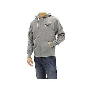 Omit Fly By Zip Hoodie (Gunmetal Heather) Small   Hoodies