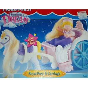 Fisher Price Once Upon a Dream Royal Pony & Carriage Toys
