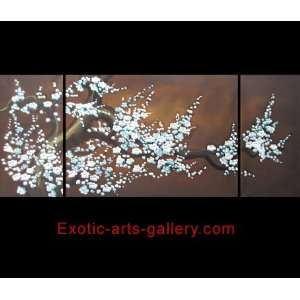 Art Plum Blossom Chinese Feng Shui Painting 421: Home & Kitchen