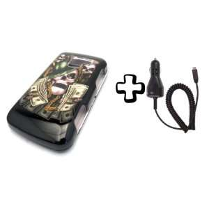 BUNDLE LG Optimus Q L55c Money Skull Hustler + CAR CHARGER