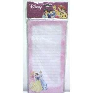 Disney Princess Magnetic Memo Pad (Shopping List Format