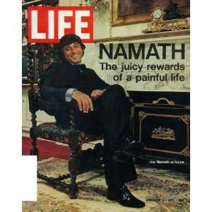 Joe Namath Movie Poster (27 x 40 Inches   69cm x 102cm