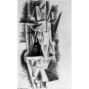 Reproduction   Pablo Picasso   24 x 40 inches   Mujer desnuda de pie 3