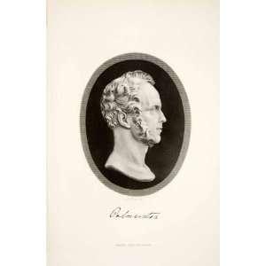 1881 Steel Engraving Lord Palmerston Portrait British