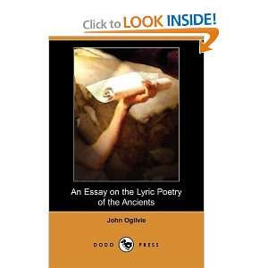 of the Ancients (Dodo Press) (9781409904915) John Ogilvie Books