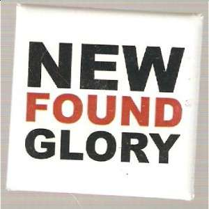 Button Pin Badge New Found Glory Logo