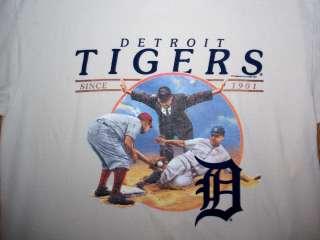 DETROIT TIGERS SHIRT Since 1901 OLD TIME BASEBALL L