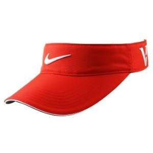 Nike One Victory Red 2010 Golf Cap Visor New Red Sports
