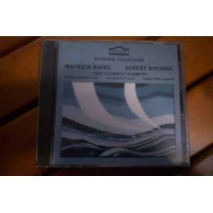 Ravel and Roussel Trios for Piano, Violin & Cello