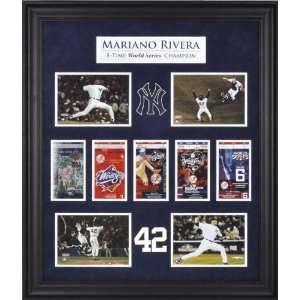 Mariano Rivera New York Yankees World Series Champions