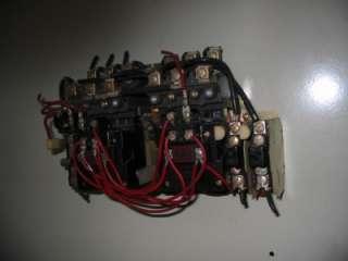 Allen Bradley Size 1 Reversing Starter 705 BOD103, N35