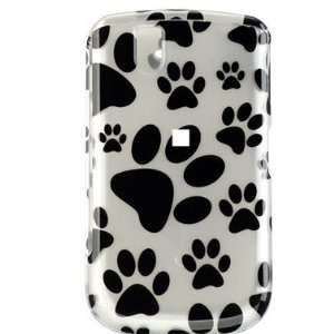 New Dog Paw Prints Blackberry 9630 Tour Snap on Cell Phone