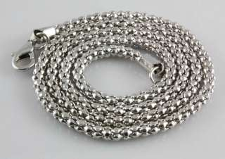 Fashion 5pcs Silver Plated Snake Chain Necklace Fit European Charm