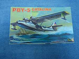 REVELL PBY 5 CATALINA FLYING BOAT 1/72 SCALE MODEL AIRPLANE KIT H 277