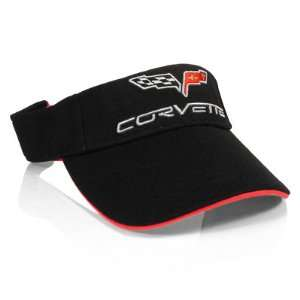 Corvette C6 Black Mesh Visor Cap Automotive