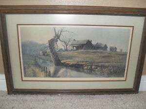 Ben Hamptons Claudes Creek Signed and Numbered