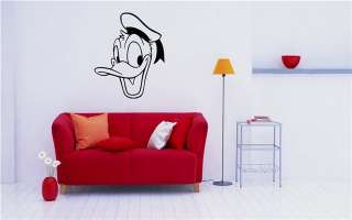 Donald Duck Wall MURAL Vinyl Sticker Kids ROOM MS. 130