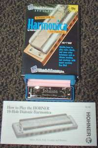 NEW Harp HARMONICA Learn HOW To Book DVD Blues LESSONS