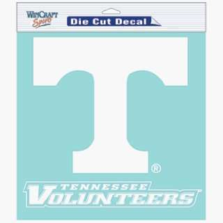 NCAA Tennessee Volunteers 8 X 8 Die Cut Decal Sports