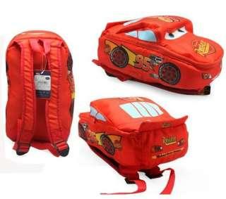Child Disney Pixar Cars McQueen Kids Boys Girls Backpack School Bag