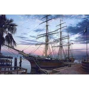 John Paul Strain   Cavalier of the Sea Remarqued Artists