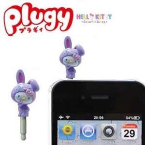 Sanrio Hello Kitty x Colorful Bunny Plugy Earphone Jack