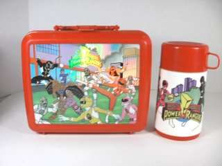 MMPR Power Ranger Aladdin Lunch Box Thermos Set 93 95