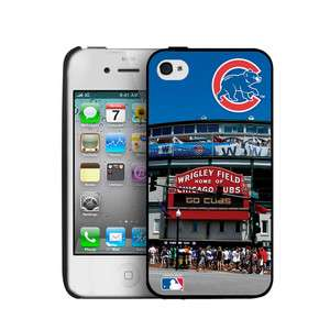 CHICAGO CUBS MLB iPhone 4 4S WRIGLEY Hard Case Cover NEW