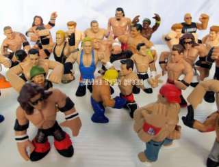 WWE WWF Wrestling superstars RUMBLERS action figures toys random lot