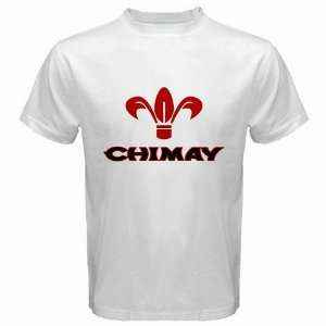 Chimay beer Logo New White T Shirt Size  L  Everything