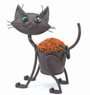 Mini Little Kitty Metal Planter New Garden Plant Stand