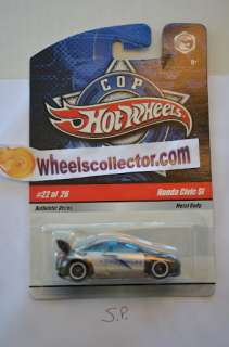 Hot Wheels 2009 * Cop Rods * Honda Civic Si #22 of 26 Rare Find