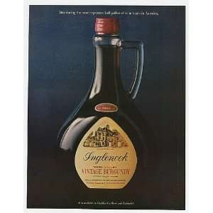 1970 Inglenook Most Expensive Half Gallon Wine Bottle