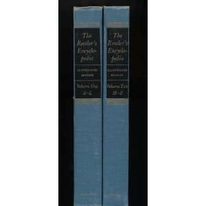 Readers Encyclopedia Volumes One and Two William Rose Benet Books