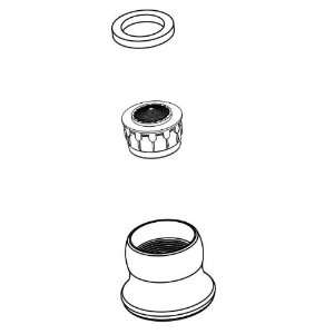 Moen 144473 Chrome Touch Control Touch Control Aerator Kit for CA87520
