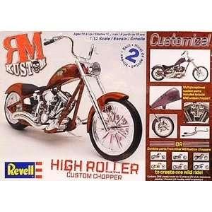 Kustom High Roller Chopper Motorcycle Revell Toys & Games