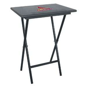 St. Louis Cardinals MLB TV Tray Set with Rack Sports