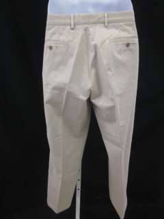 on a pair of STAFFORD SIGNATURE Mens Khaki Pants in a Size 36X30