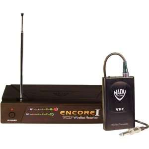Nady ENCORE1 GT Single Channel Professional VHF Wireless