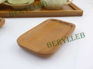 Friendly Tips:The item only contains one handmade bamboo teacup tray