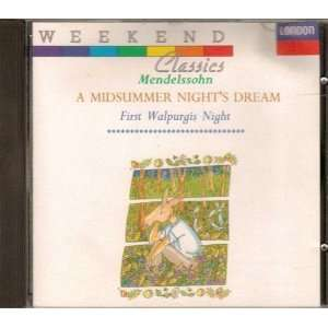 Midsummer Nights Dream Mendelssohn, Dohnanyi, Vpo Music