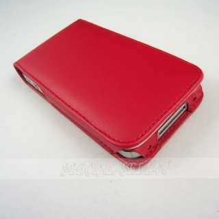 Leather Case Pouch Magnet Cover Skin for Apple iPhone 4 4S 4G 4GS New