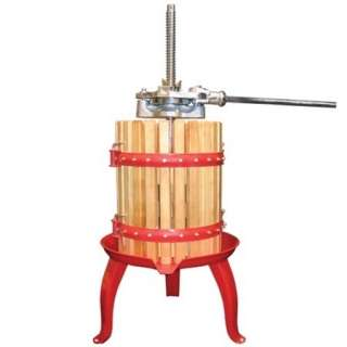 Weston 05 0101 Fruit And Wine Press 16 Quart Capacity